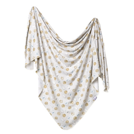 Copper Pearl Swaddle Blanket- Chip
