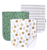 Copper Pearl Burp Cloth Set (3-pack) Chip