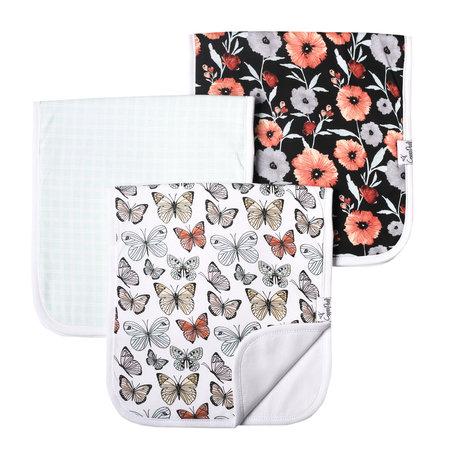 Copper Pearl Burp Cloth Set (3-pack) Dot