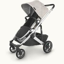 UPPAbaby CRUZ V2 Stroller- SIERRA (Dune Knit/Silver/Black Leather)