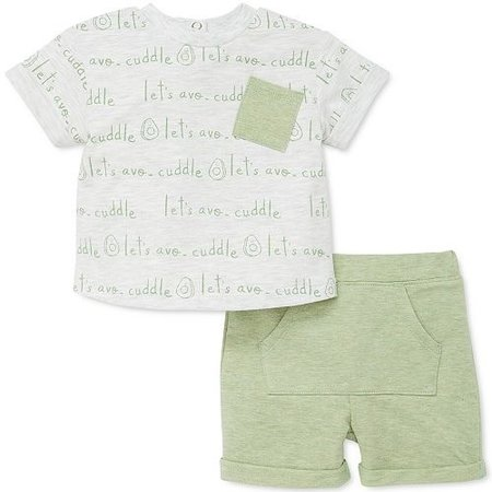 Focus Kids Avocado 2pc Short Set