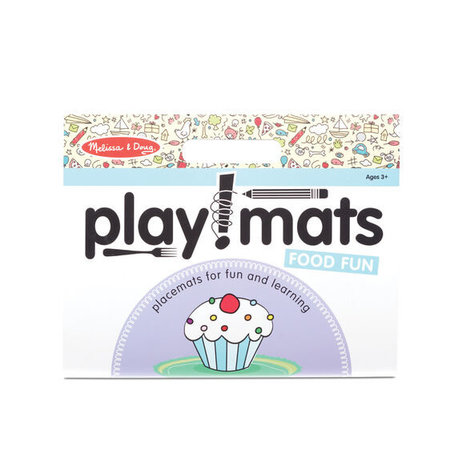 Melissa & Doug Take Along Playmat- Food Fun