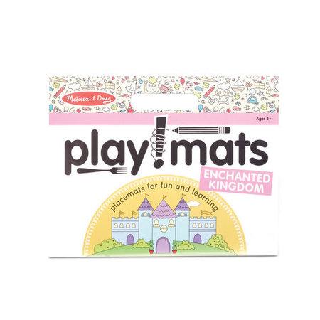 Melissa & Doug Take Along Playmat- Enchanted Kingdom
