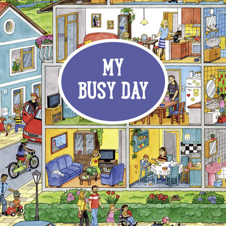 My Big Wimmelbooks- My Busy Day