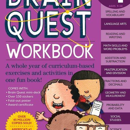 Brain Quest Brain Quest Workbook: Fourth Grade