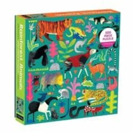 Mudpuppy Rainforest Animals 500pc Puzzle