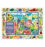 eeBoo Seagull Garden 1000pc Puzzle