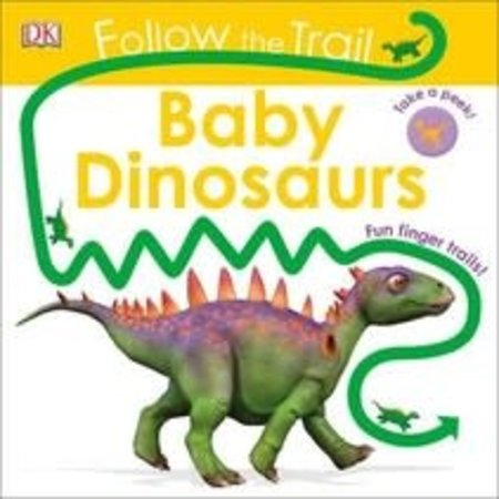 Penguin Random House Follow the Trail Baby Dinosaurs by Penguin Random House
