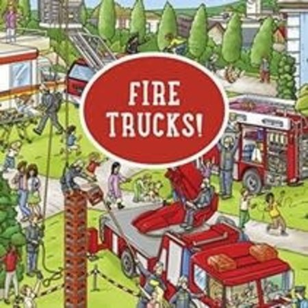 My Big Wimmelbooks- Fire Trucks!
