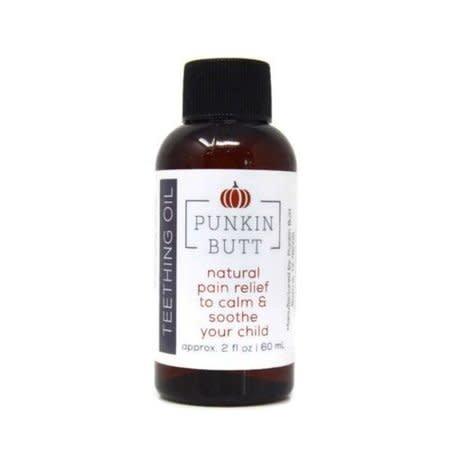 Punkin Butt Teething Oil (2 oz Glass Bottle) by Punkin Butt