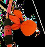 Two Bros Bows Two Bros Bows: Orange Tie-Dye