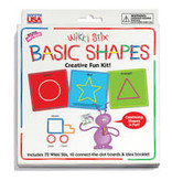 Wikki Stix Wikki Sticks Basic Shapes Card Set