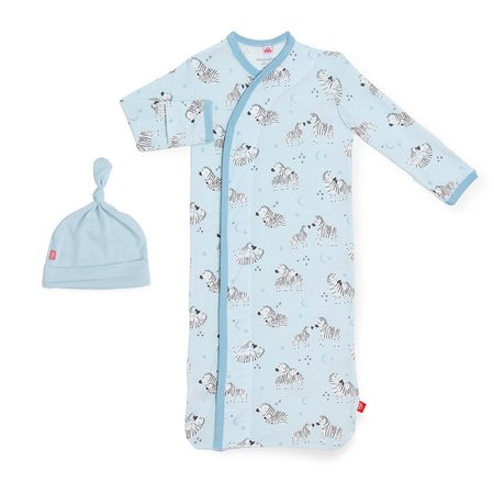 Magnetic Me Modal Magnetic Gown + Hat Set- Blue Little One