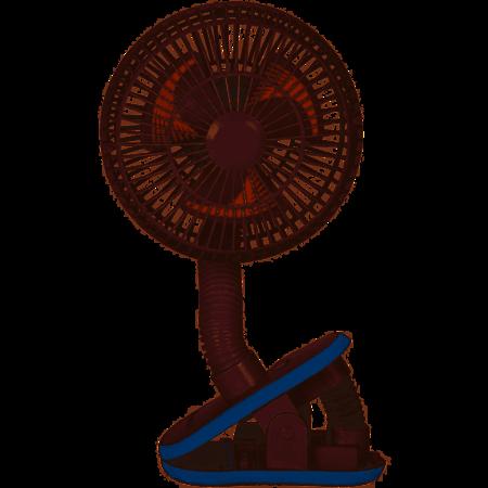 Diono Stroller Fan- White