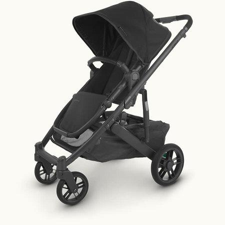 UPPAbaby UPPAbaby Cruz V2 Stroller- JAKE (black/carbon/black Leather)