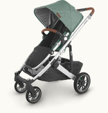 UPPAbaby UPPAbaby Cruz V2 Stroller- EMMETT (green mélange/silver frame/saddle leather)