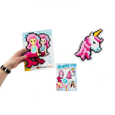 Fat Brain Toys Jixelz 700pc Set- Fantasy Friends