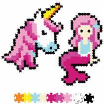 Jixelz 700pc Set- Fantasy Friends