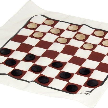 Maple Landmark Games To Go- Checkers