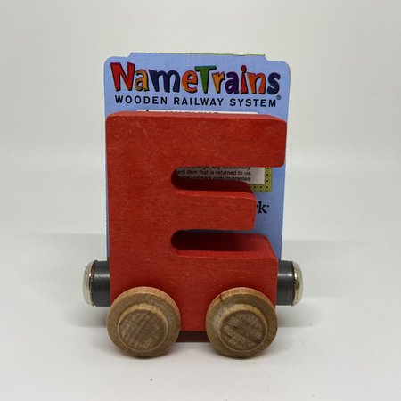 Maple Landmark Magnetic NameTrain Train Car E
