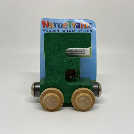 Maple Landmark Magnetic NameTrain Train Car F