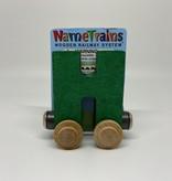 Maple Landmark Magnetic NameTrain Train Car H