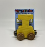 Maple Landmark Magnetic NameTrain Train Car I