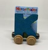 Maple Landmark Magnetic NameTrain Train Car K