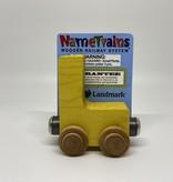Maple Landmark Magnetic NameTrain Train Car L