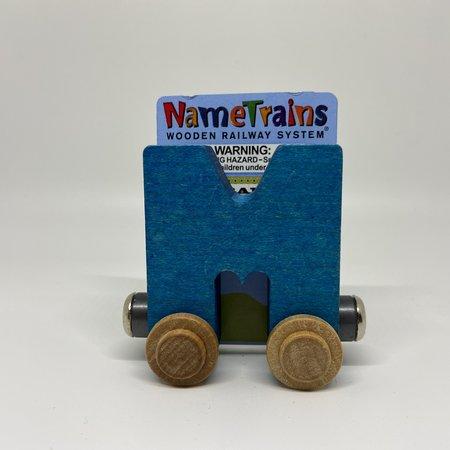 Maple Landmark Magnetic NameTrain Train Car M