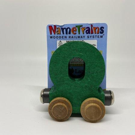 Maple Landmark Magnetic NameTrain Train Car O