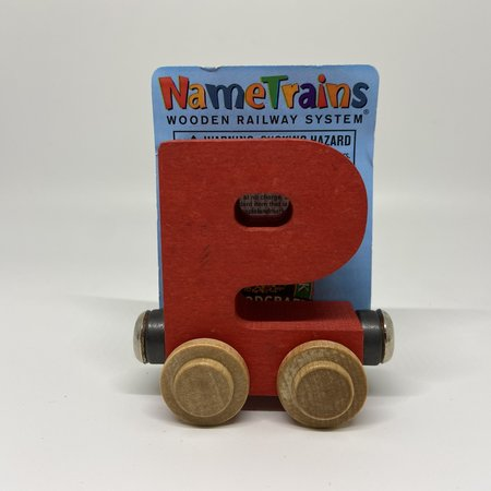Maple Landmark Magnetic NameTrain Train Car P