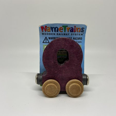 Maple Landmark Magnetic NameTrain Train Car Q