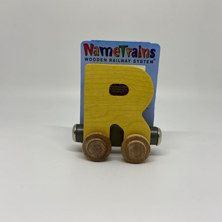Maple Landmark Magnetic NameTrain Train Car R