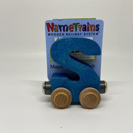 Maple Landmark Magnetic NameTrain Train Car S