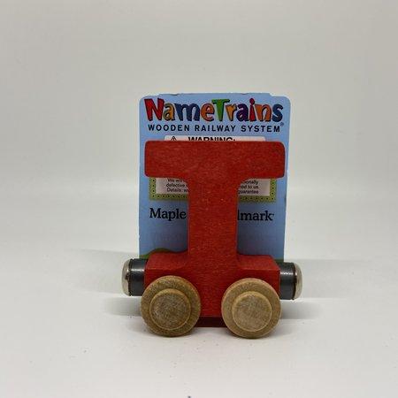Maple Landmark Magnetic NameTrain Train Car T