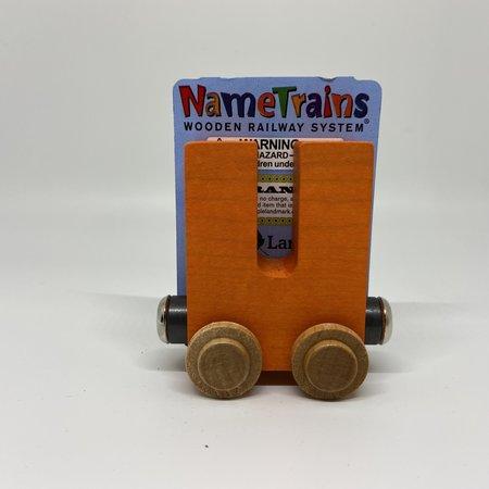 Maple Landmark Magnetic NameTrain Train Car U