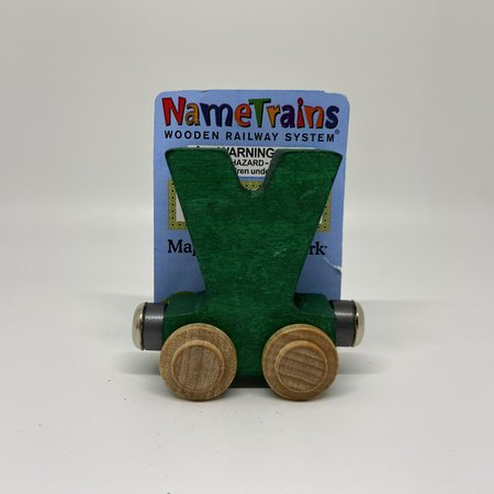 Maple Landmark Magnetic NameTrain Train Car V