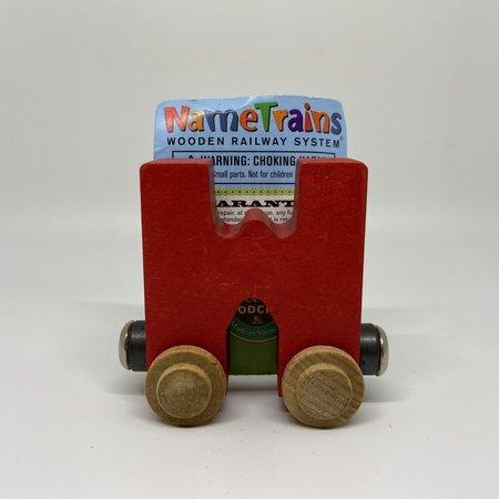 Maple Landmark Magnetic NameTrain Train Car W
