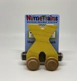 Maple Landmark Magnetic NameTrain Train Car X