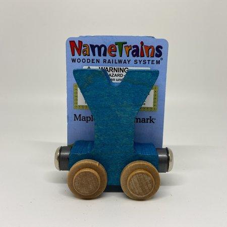 Maple Landmark Magnetic NameTrain Train Car Y