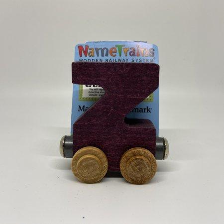 Maple Landmark Magnetic NameTrain Train Car Z