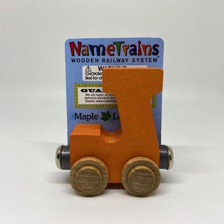 Maple Landmark Magnetic NameTrain Train Car J