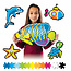 Fat Brain Toys Jixelz 1500pc Set- Under the Sea