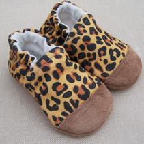 Organic Cotton Slippers Cheetah