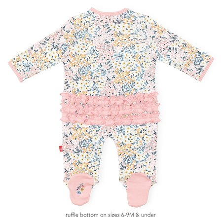 Magnetic Me Organic Cotton Magnetic Footie- Chelsea