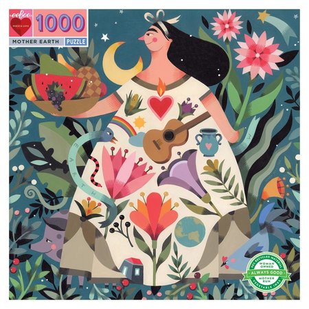 eeBoo Mother Earth 1000pc Puzzle