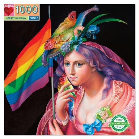 eeBoo Liberty Rainbow 1000 Piece Puzzle