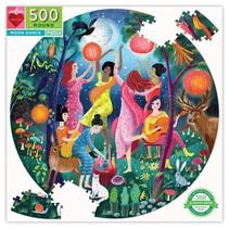 Moon Dance 500 Piece Round Puzzle