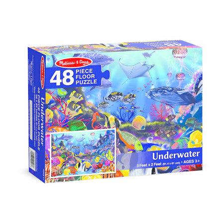 Melissa & Doug Underwater Oasis Floor Puzzle
